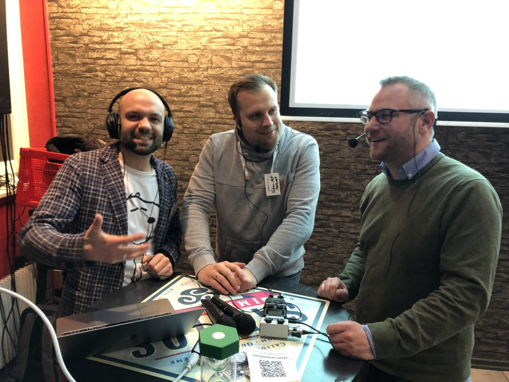 Onlinestadt Podcast live beim Webmontag in Hannover